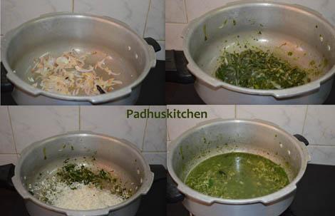 how to make pudina pulao (pudina sadam)