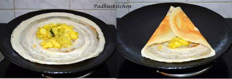how to make masala dosa