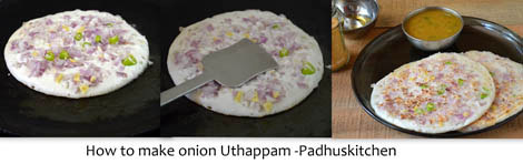 How to make uthappam