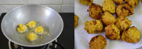 prepare vada curry
