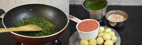 How to make Aloo Palak