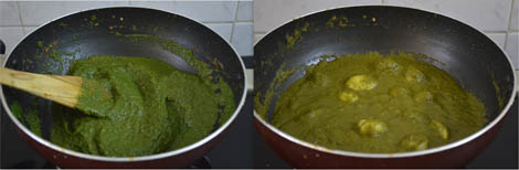 How to prepare Aloo Palak