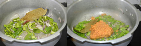 Potato capsicum pulao