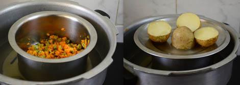 vegetables for cutlet