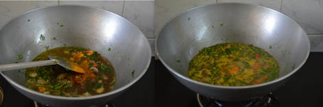 How to make methi sambar