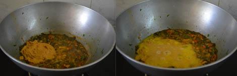 Methi sambar
