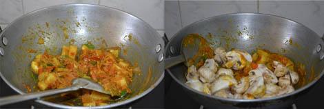 How to make mushroom Kuzhambu
