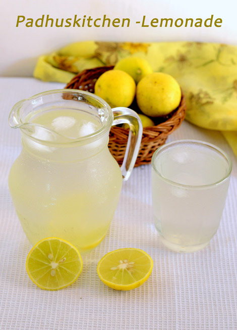 Lemonade- lemon juice
