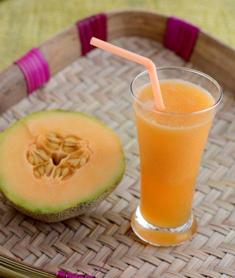 Musk Melon Juice-cantaloupe juice
