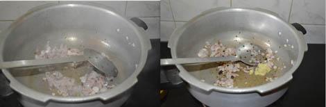 sauteing onions