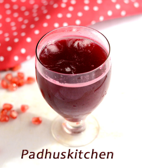 Beetroot Pomegranates Juice