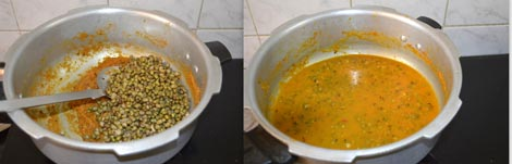 Green gram dal curry