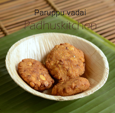 Paruppu Vada (without onion)