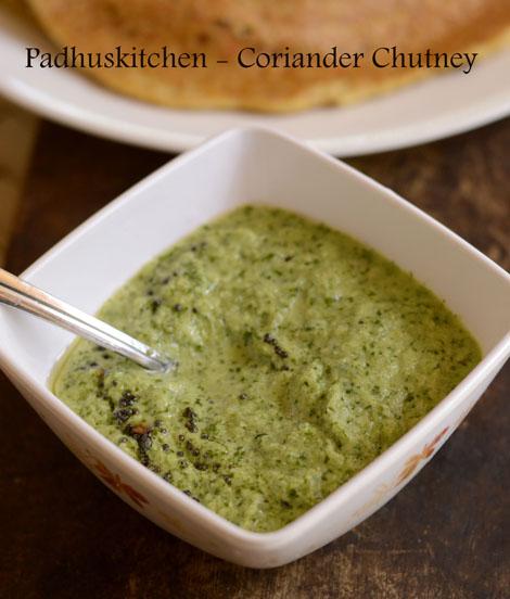 Coriander Chutney-Kothamalli chutney