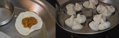 steaming kolukattai