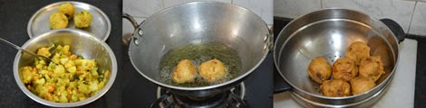 How to make vegetable bonda