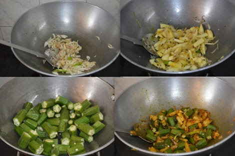 how to make aloo bhindi sabzi