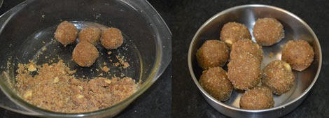 how to make aval laddu