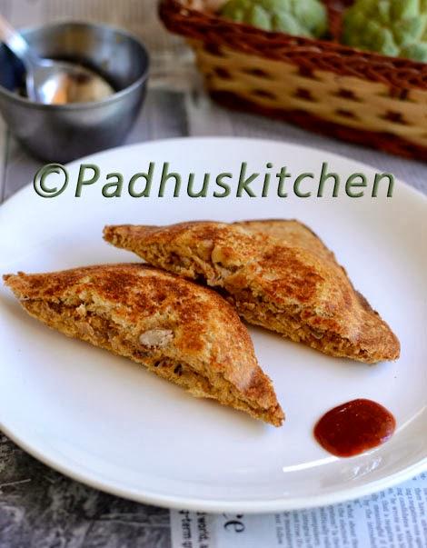 Rajma Sandwich-Kidney beans sandwich