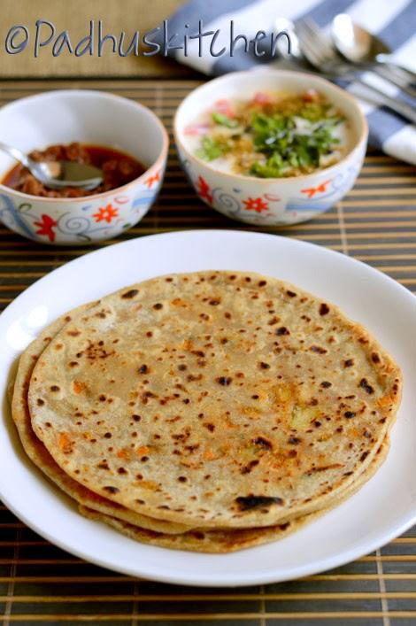 Vegetable Paratha