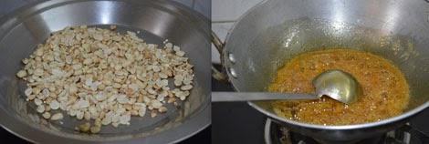 preparation of peanut balls