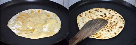 how to prepare mixed veg paratha