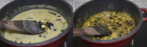preparing easy fruit cake