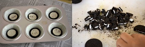 how to make oreo cupcakes