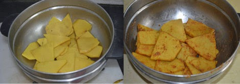 preparation of senai chips