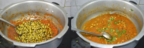 how to make Black eyed bean curry