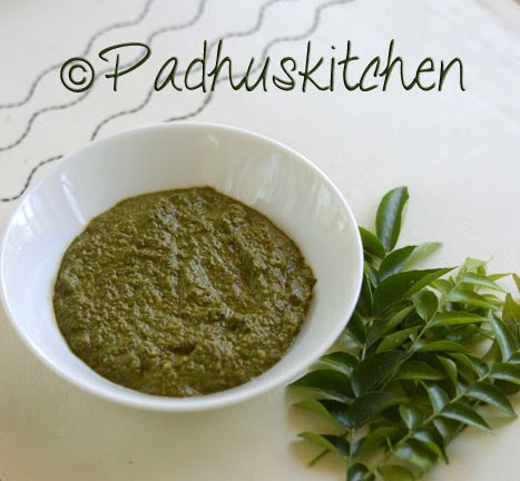 Curry Leaves Thuvaiyal