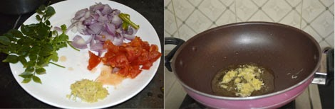 preparation for Kerala kadala curry