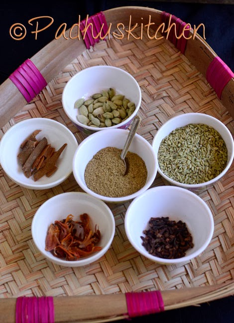 Garam Masala Powder Recipe Kerala Style Padhuskitchen