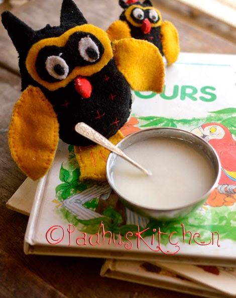 Rice porridge for babies-Homemade baby food