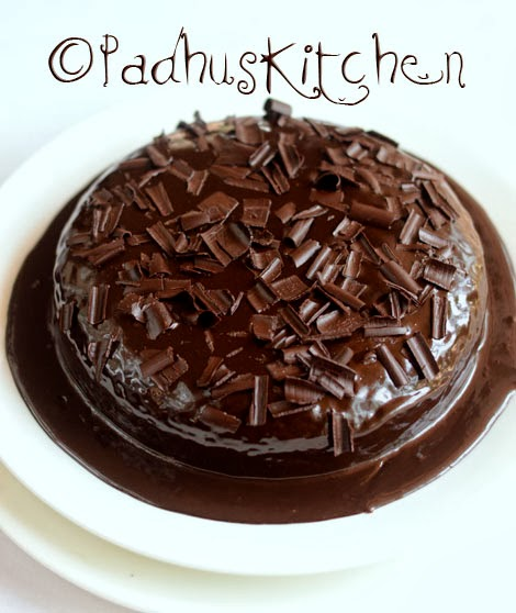 Eggless Whole Wheat Finger Millet Chocolate Cake-Ragi ...