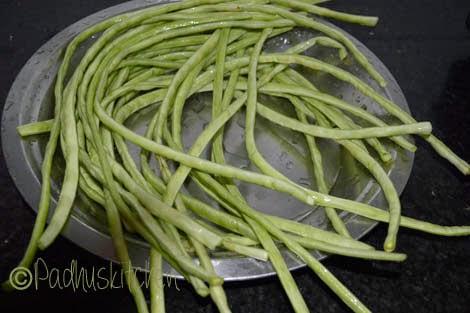 Long beans-karamani