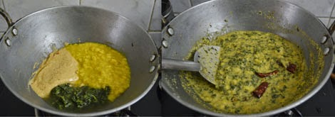 Keerai Molagootal-Palakkad cuisine
