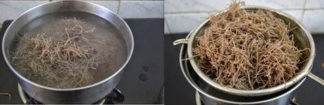 how to make ragi semiya upma