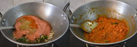 how to make tomato kurma