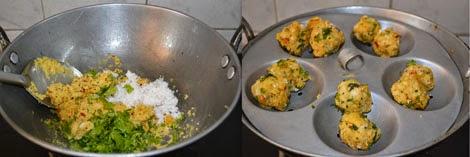 making Paruppu Urundai