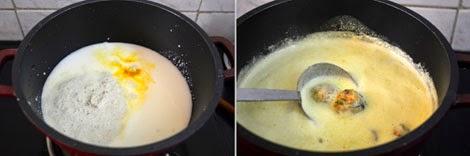 how to prepare Paruppu Urundai mor kulambu