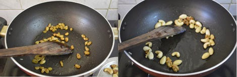 sauteing nuts