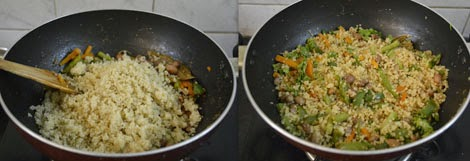 vegetarian quinoa recipe