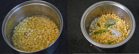 prepare vazhaipoo vadai