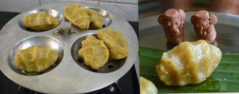 how to make sweet pidi kolukattai