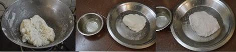 rice flour dough for kozhukattai