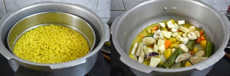 preparations for Kerala sambar