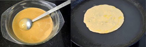 how to make vella dosai