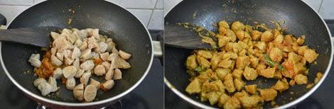 how to make soya chunks kurma