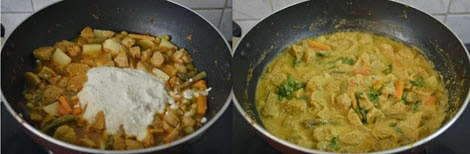soya chunks kurma recipe